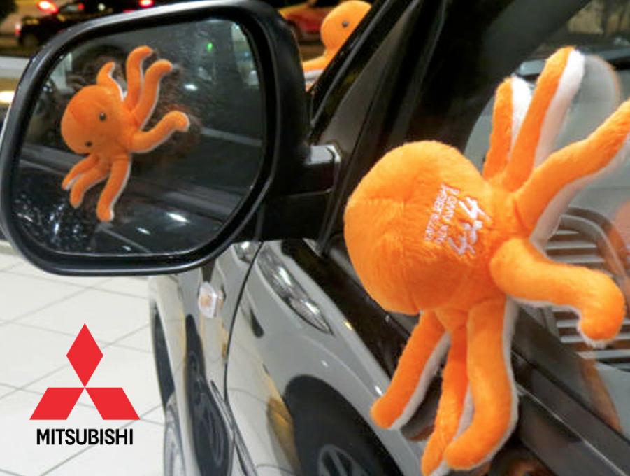 mascote mitsubishi montadora - Mascotes de Pelúcia Personalizados