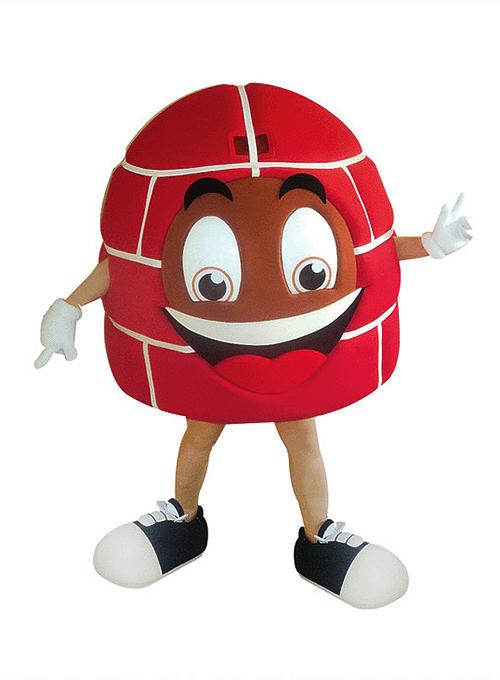 mascot mascote de vestir iglu - Portfólio de Mascotes de Pelúcia Personalizados