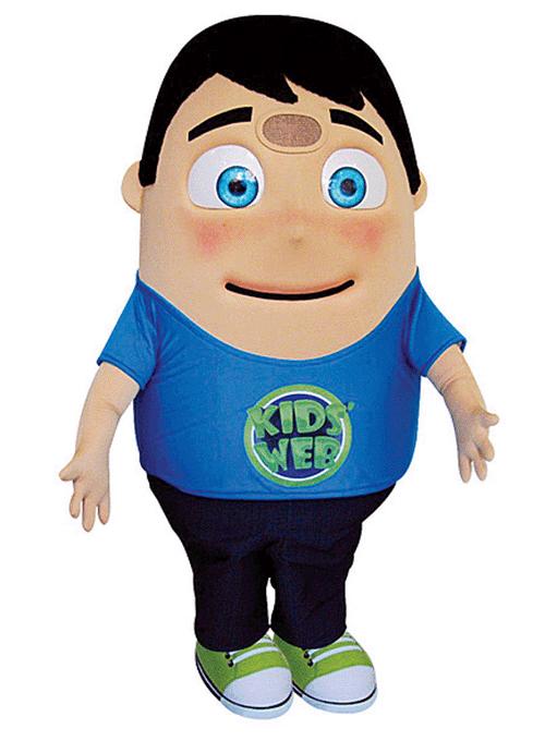 mascot mascote de vestir kids web - Portfólio de Mascotes de Pelúcia Personalizados