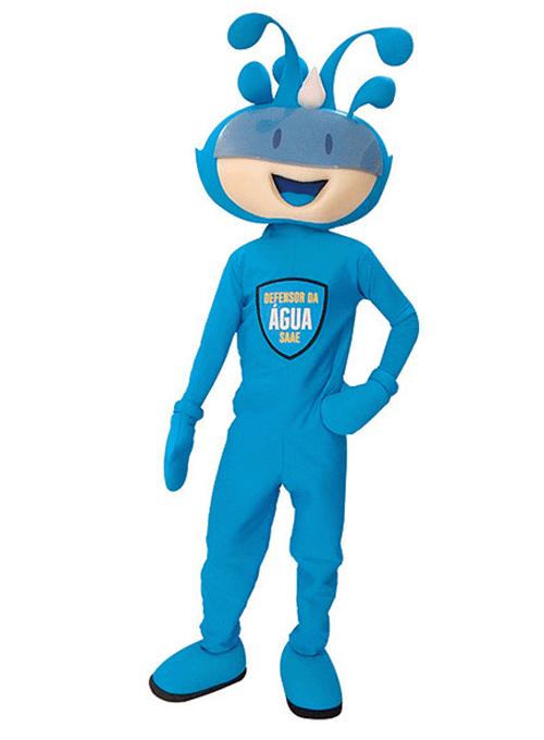 mascot mascote de vestir saae - Portfólio de Mascotes de Pelúcia Personalizados